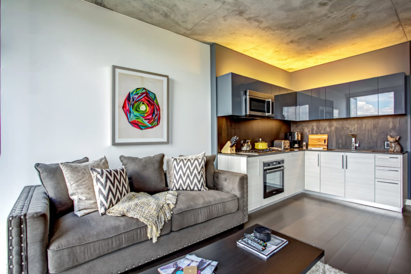 Lincoln Park Chicago Living - Xavier Apartments Luxury Floor Plan